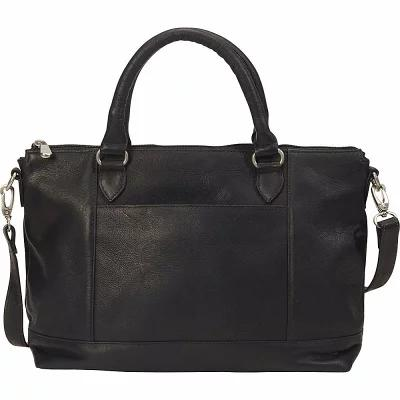 ルドンレザー Le Donne Leather ハンドバッグ Lustiano Satchel Black
