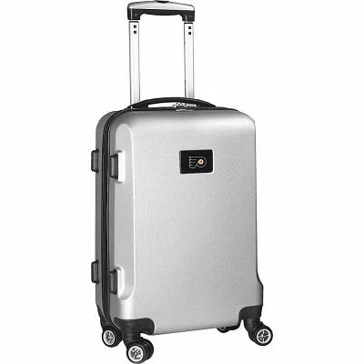 デンコスポーツラッゲージ Denco Sports Luggage スーツケース・キャリーバッグ NHL 20' Domestic Carry-On Silver Philadelphia Flyers