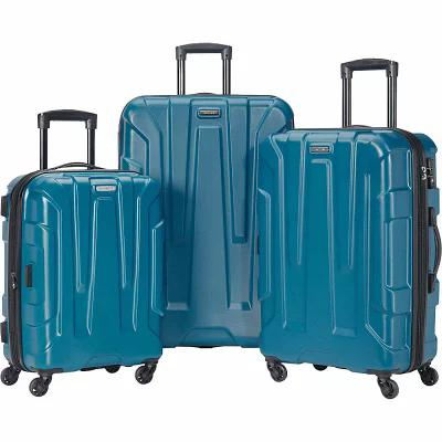 サムソナイト Samsonite スーツケース・キャリーバッグ Centric 3 Piece Expandable Hardside Spinner Luggage Set Caribbean Blue