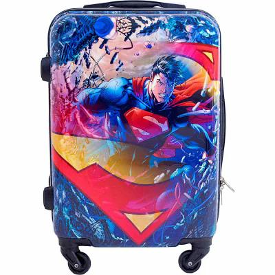 DC コミックス DC Comics スーツケース・キャリーバッグ Superman 21 Inch Spinner Rolling Carry-On Multi Color