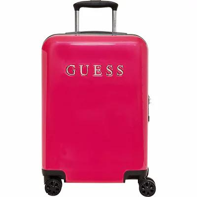 ゲス GUESS Travel スーツケース・キャリーバッグ Mimsy 20' Hardside Spinner Carry-On Luggage Magenta