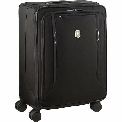 ビクトリノックス Victorinox スーツケース・キャリーバッグ Werks Traveler 6.0 Medium Softside Checked Spinner Luggage Black