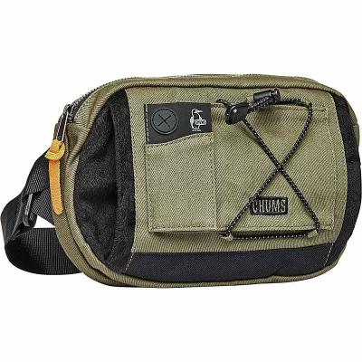 チャムス Chums Inc ボディバッグ・ウエストポーチ Boom Box Waist Pack/Fanny Pack Green/Black