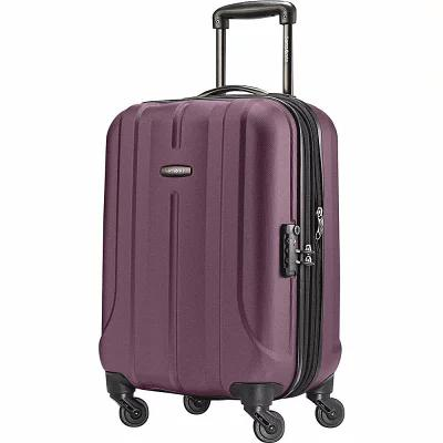 サムソナイト Samsonite スーツケース・キャリーバッグ Fiero 20' Carry-On Hardside Spinner Luggage Fancy Purple