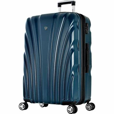 オリンピア Olympia USA スーツケース・キャリーバッグ Vortex 24' Expandable Hardside Checked Spinner Luggage Dark Green