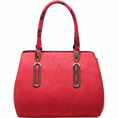 MKFコレクション MKF Collection by Mia K. Farrow ハンドバッグ London Satchel Handbag Red