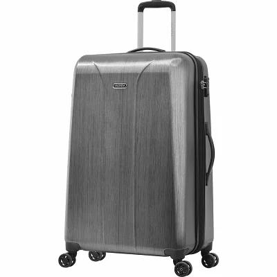 オリンピア Olympia USA スーツケース・キャリーバッグ Aerolite 29' Expandable Hardside Checked Spinner Luggage Charcoal Gray