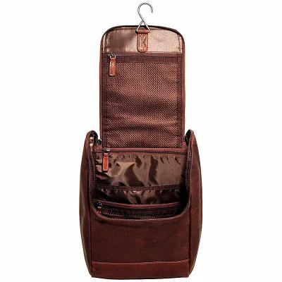 56456541c925 [お取り寄せ商品] Voyager Fancy Toiletry Kit Brown. 【中古】SILVER ...