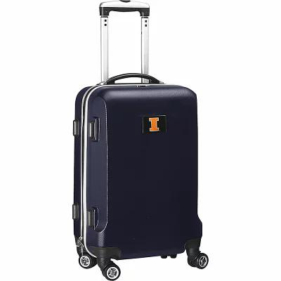 デンコスポーツラッゲージ Denco Sports Luggage スーツケース・キャリーバッグ NCAA 20' Domestic Carry-On Navy University of Illinois Fighting Illini