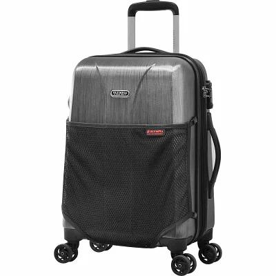オリンピア Olympia USA スーツケース・キャリーバッグ Aerolite 21' Expandable Hardside Carry-on Spinner Luggage Charcoal Gray