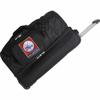 デンコスポーツラッゲージ Denco Sports Luggage スーツケース・キャリーバッグ NBA 27' Drop Bottom Wheeled Duffel Bag Philadelphia 76ers