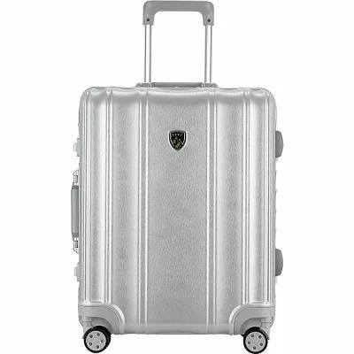 T.P.R.C. スーツケース・キャリーバッグ Luna Collection 20' Hardside Carry-On Spinner Luggage Silver
