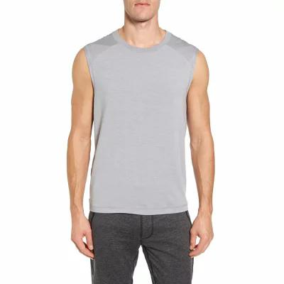 アロー ALO タンクトップ Dharma Slim Fit Performance Tank Athletic Grey