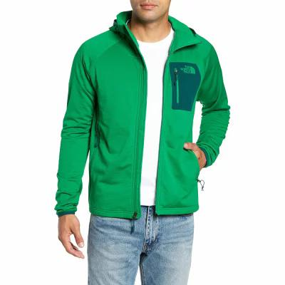 ザ ノースフェイス THE NORTH FACE フリース Borod Zip Fleece Jacket Primary Green/Garden Green