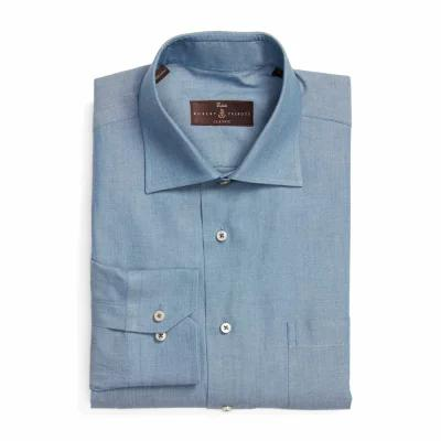 ロバート タルボット ROBERT TALBOTT シャツ Classic Fit Oxford Dress Shirt Indigo