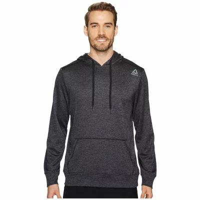 リーボック Reebok フリース Double Knit Fleece Hoodie Black