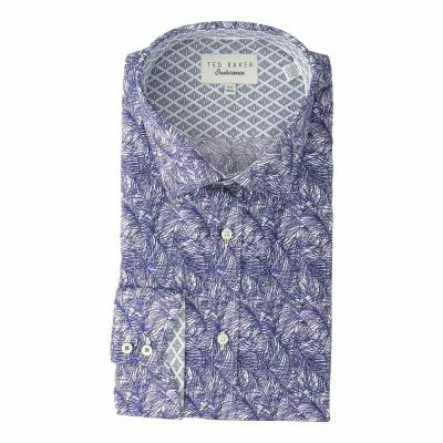 テッドベーカー Ted Baker シャツ Messera Endurance Dress Shirt Navy