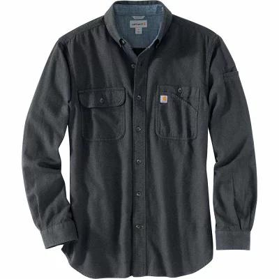 カーハート Carhartt シャツ Beartooth Solid Long - Sleeve Shirts Granite Heather