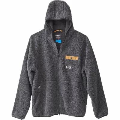 カブー KAVU フリース Revelstoke Jackets Black Smoke
