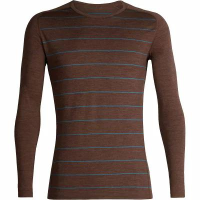 アイスブレーカー Icebreaker その他トップス 200 Oasis Deluxe Raglan Long - Sleeve Crew Tops Bronze Heather/Alpine/Stripe