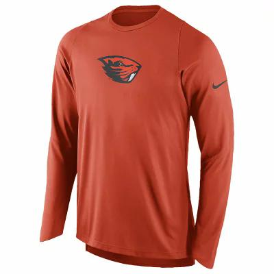 ナイキ Nike その他トップス College Dri FIT On Court Shooting Shirt NCAA | Oregon State Beavers | Team Orange
