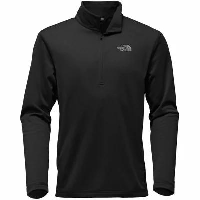 ザ ノースフェイス The North Face フリース Tech Glacier Fleece Pullover - 1/4 - Zips Tnf Black