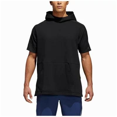 アディダス adidas Athletics その他トップス Squad Color Blocked Short Sleeve Hoodie Black