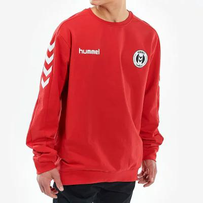 ヒュンメル Hummel フリース Core Fleece Crew Red/White