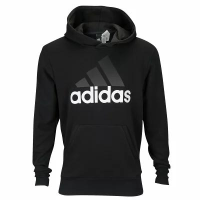 アディダス adidas Athletics パーカー Essentials Linear Logo Pullover Hoodie Black/White