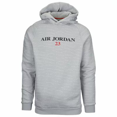 ナイキ ジョーダン Jordan フリース Retro 10 Jumpman Fleece Pullover Hoodie Light Grey