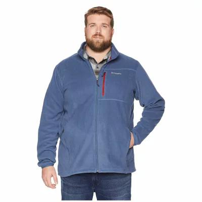 コロンビア Columbia フリース Big & Tall Cascades Explorer(TM) Full Zip Fleece Dark Mountain/Red Element