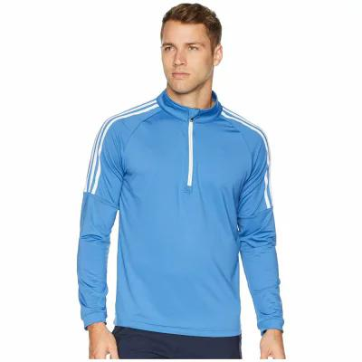 アディダス adidas Golf その他トップス Classic 3-Stripes 1/4 Zip Pullover Trace Royal