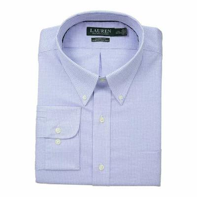 ラルフ ローレン LAUREN Ralph Lauren シャツ Classic No Iron Button Down with Pocket Dress Shirt White/Dress Shirt Blue