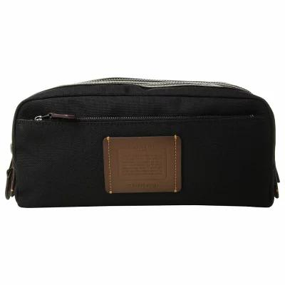 コーチ COACH ポーチ Double Zip Dopp Kit in Cordura Black