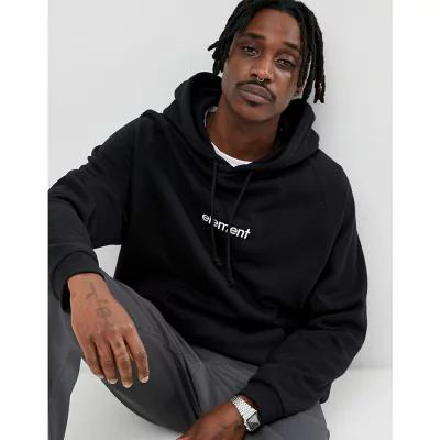 エレメント Element パーカー Hoodie With Chest Logo In Black Black