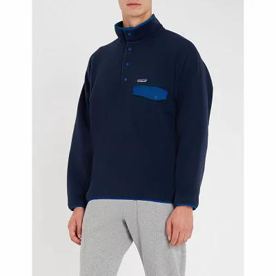 パタゴニア patagonia フリース synchilla snap-t fleece jacket Navy blue