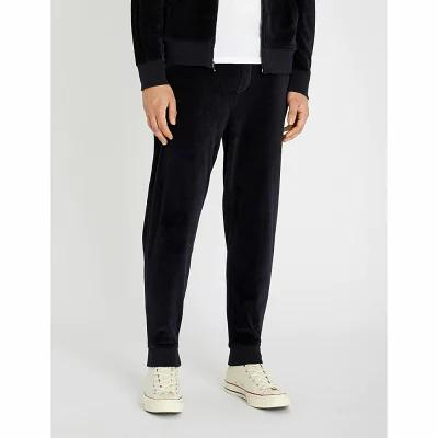 ラルフ ローレン polo ralph lauren その他ボトムス・パンツ relaxed-fit tapered cotton-blend jogging bottoms Aviator navy