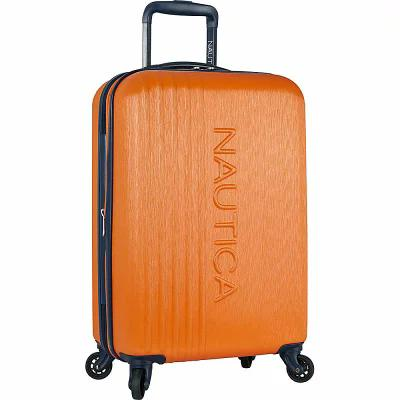 ノーティカ Nautica スーツケース・キャリーバッグ Lifeboat 20' Expandable Hardside Carry-On Spinner Luggage Classic Orange