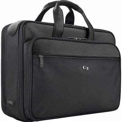 ソロ SOLO パソコンバッグ 16' Laptop Smart Strap Briefcase Black