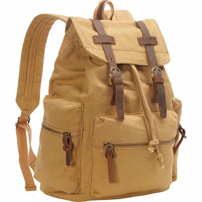 ヴァガボンド Vagabond Traveler パソコンバッグ Medium Canvas Laptop Backpack Khaki
