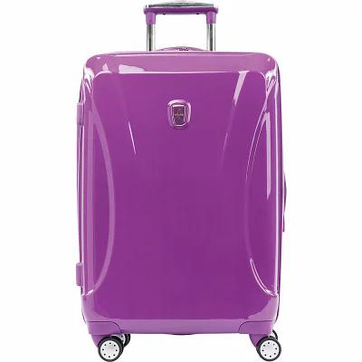 アトランティック Atlantic スーツケース・キャリーバッグ Ultra Lite 24' Expandable Hardside Checked Spinner Luggage Bright Violet