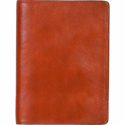 スカーリー Scully パソコンバッグ Italian Leather Desk Journal - Blank Page Notebook Sunset