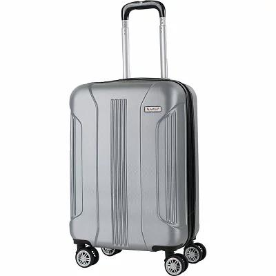 AMKA スーツケース・キャリーバッグ Sierra 20' Expandable Hardside Carry-On Spinner Silver