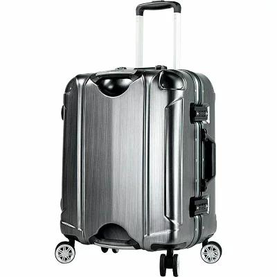 T.P.R.C. スーツケース・キャリーバッグ Luna 20' Hardside Carry-On Spinner Luggage Brushed Charcoal