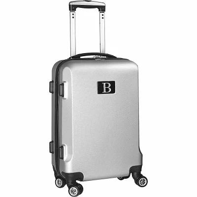 モジョ Mojo Licensing スーツケース・キャリーバッグ B Initial 21' Hardside Carry-On Spinner Luggage Silver