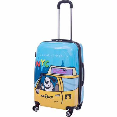 エドヘック Ed Heck Luggage スーツケース・キャリーバッグ Riley 21' Expandable Hardside Carry-On Spinner Luggage Blue