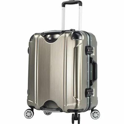 T.P.R.C. スーツケース・キャリーバッグ Luna 20' Hardside Carry-On Spinner Luggage Brushed Gold