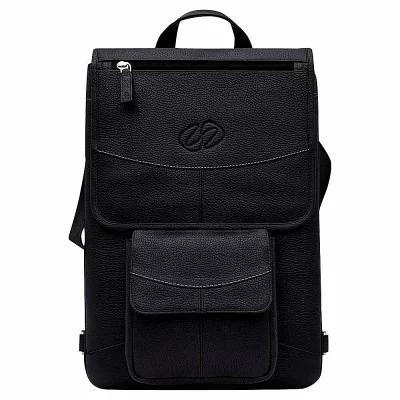 マックケース MacCase パソコンバッグ Premium Leather 13' MacBook Pro Touch Bar Flight Jacket Black