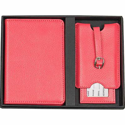 キャシーズ コンセプツ Cathy's Concepts パスポートケース Monogram Passport Case & Luggage Tag Pink Plain
