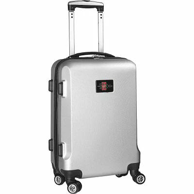デンコスポーツラッゲージ Denco Sports Luggage スーツケース・キャリーバッグ NCAA 20' Domestic Carry-On Silver San Diego State University Aztecs